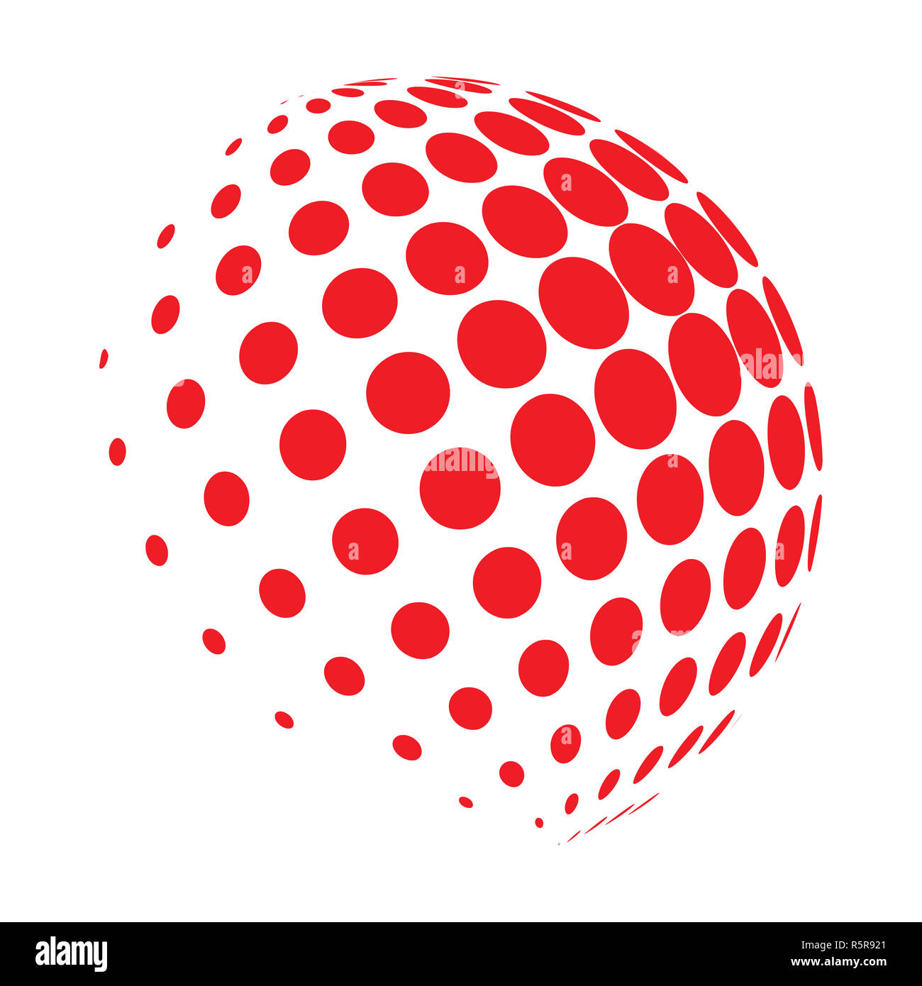 halftone globe logo vector symbol icon design Stock Photo: 227320073