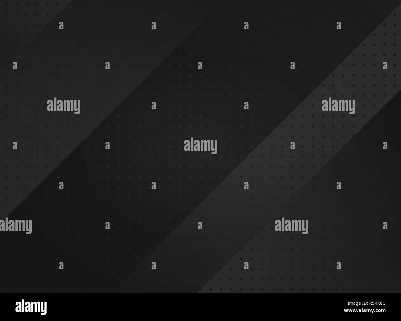 Lighten black abstraction technology futuristic geometric background. Vector eps10 - Stock Image