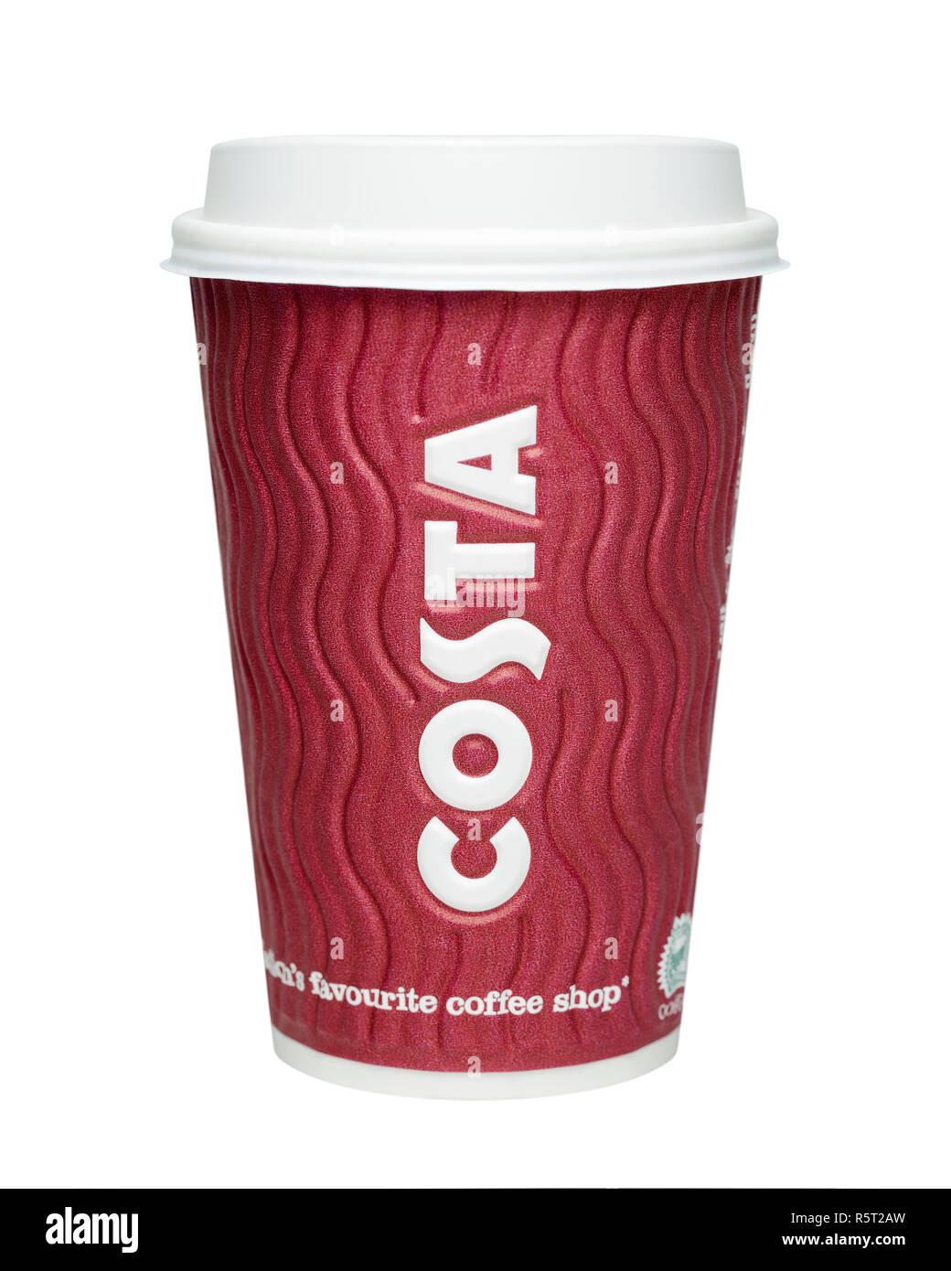 Costa Coffee Cup - Stock Image