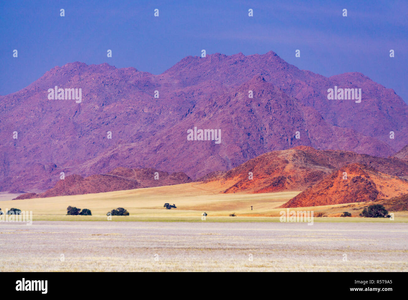 namibia mountain d707 landscape namib - Stock Image