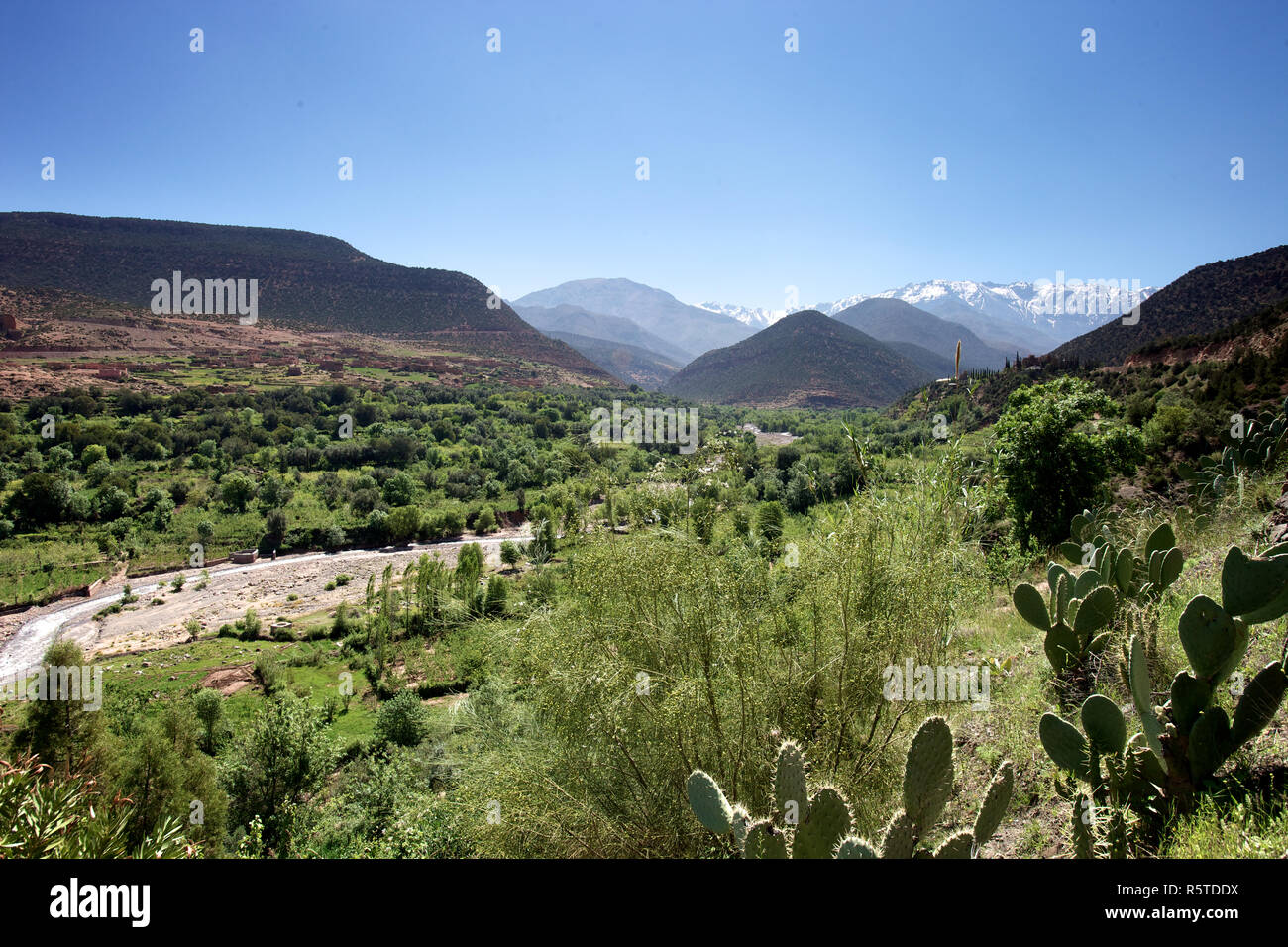 Ourika Valley, Morocco - Stock Image