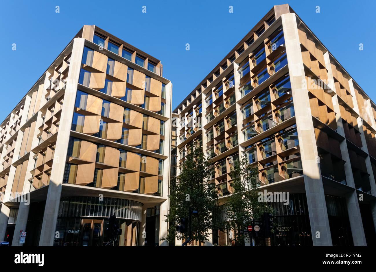 Bloomberg European Headquarters in London, England United Kingdom UK - Stock Image
