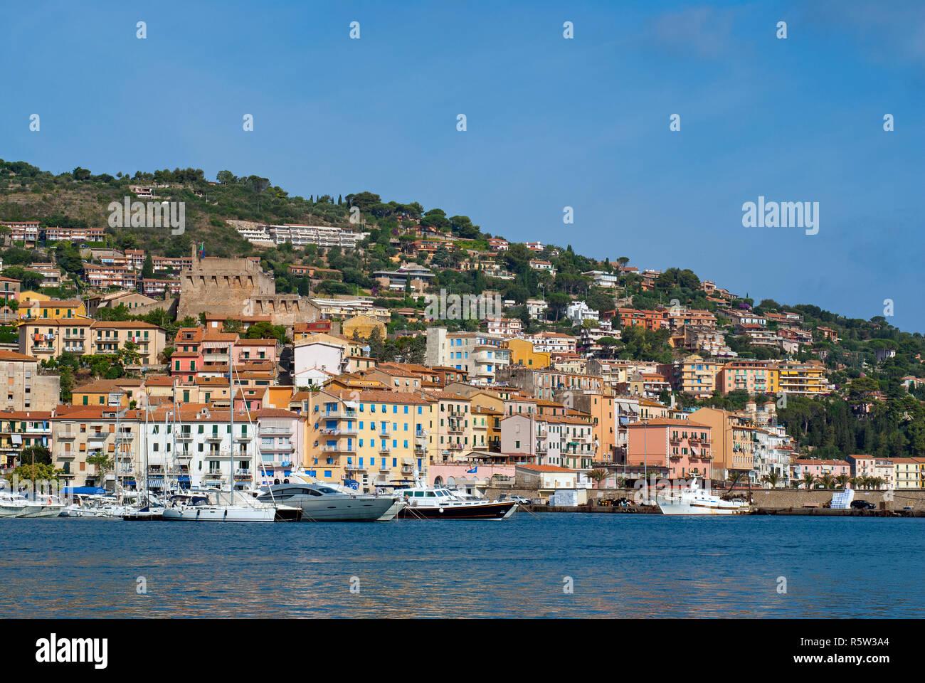 Porto Santo Stefano, Grosseto, Tuscany, Italy - Stock Image