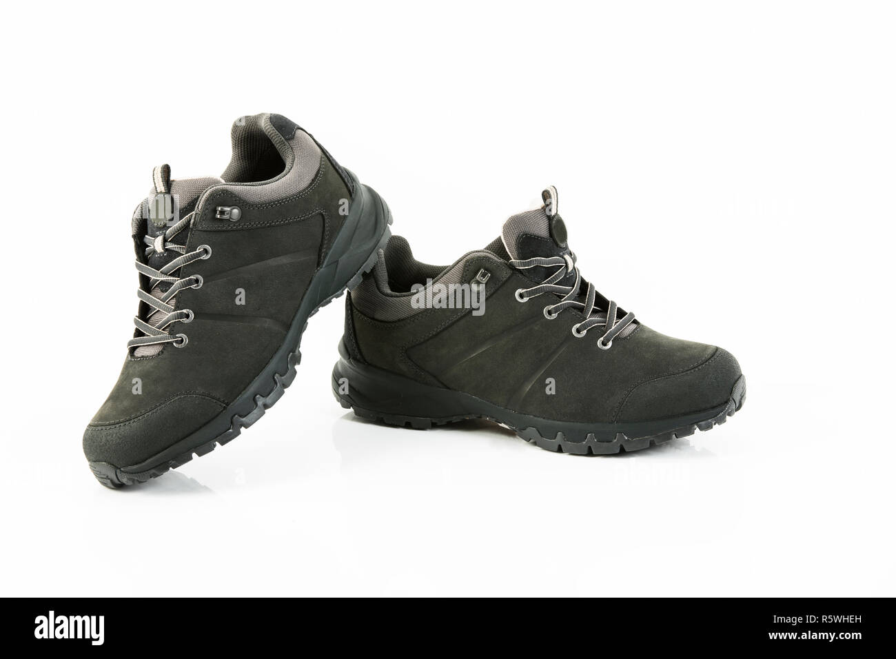 walking boots Stock Photo