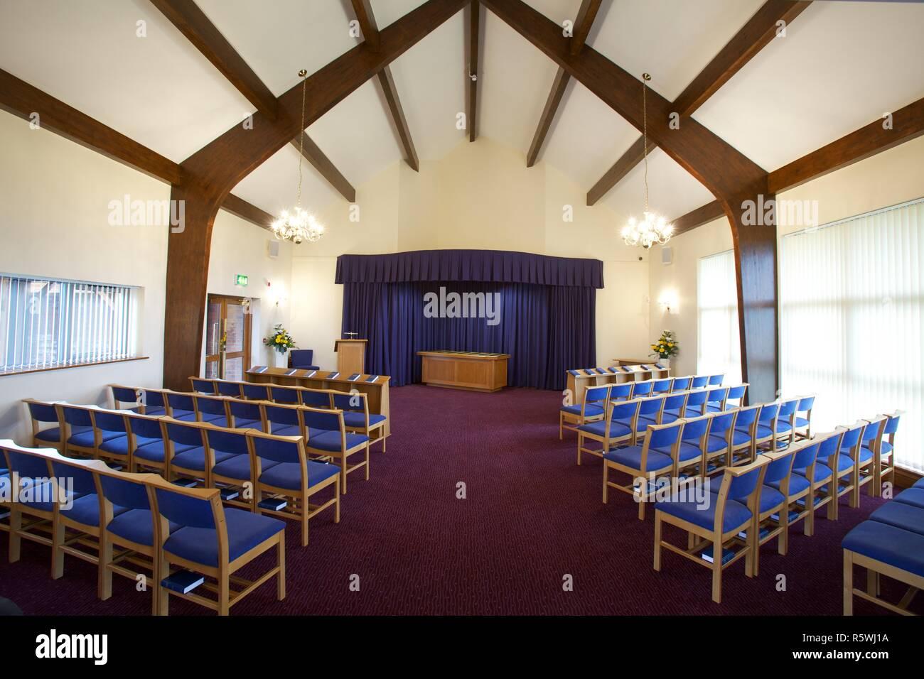 Funeral Chapel - Stock Image