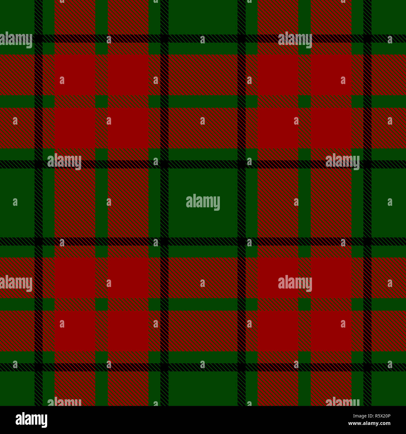 seamless christmas check pattern black green and red design for wallpaper fabric textile wrapping simple background R5X20P