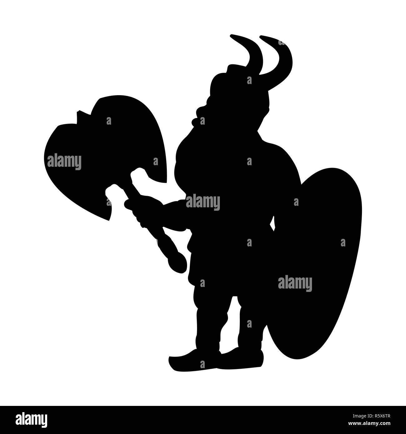 Male Beard Viking Symbol Stock Photos Male Beard Viking Symbol