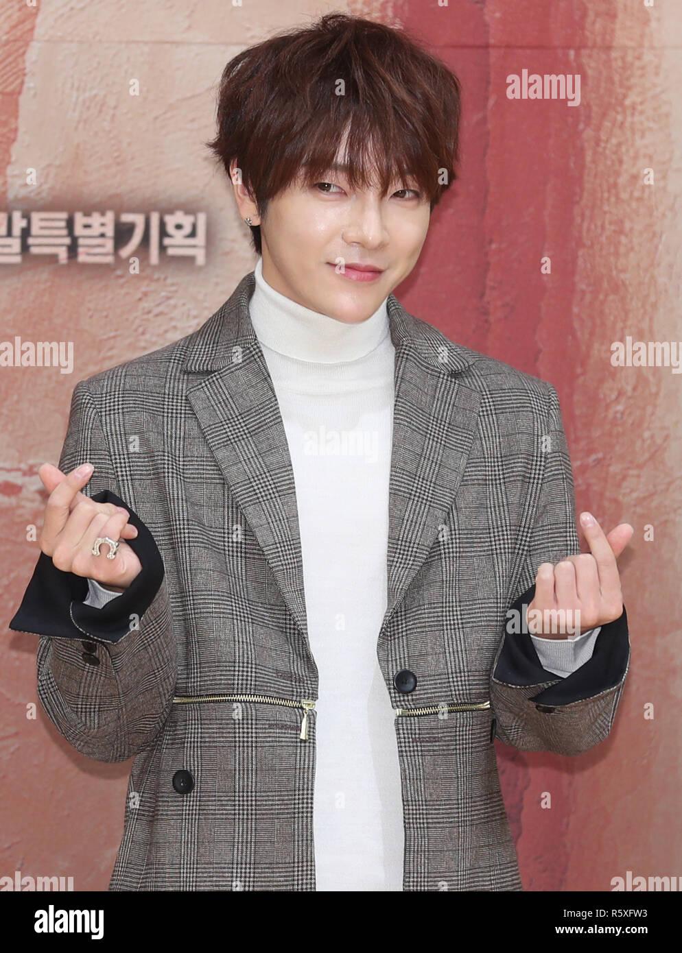 03rd Dec 2018 S Korean Actor Jung Yoon Hak South Korean