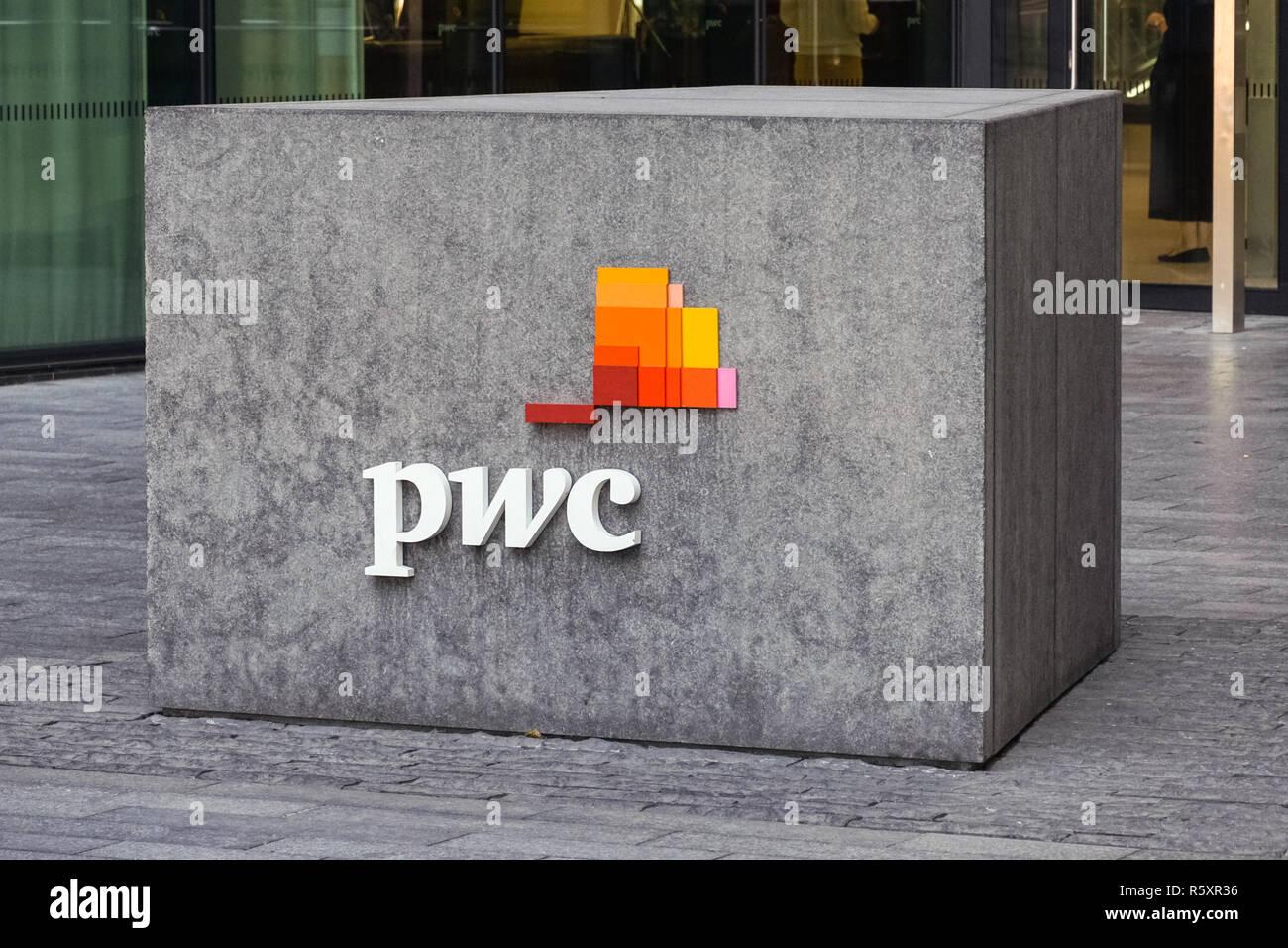 PwC headquarters in London, England United Kingdom UK - Stock Image