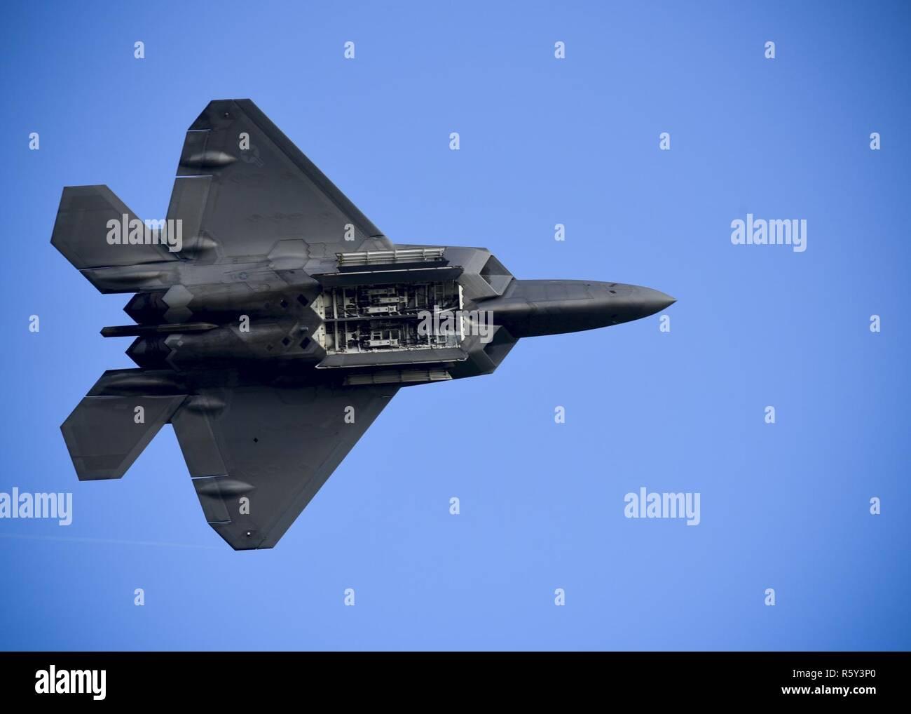U S  Air Force Maj  Daniel Dickinson, F-22 Raptor Demonstration Team