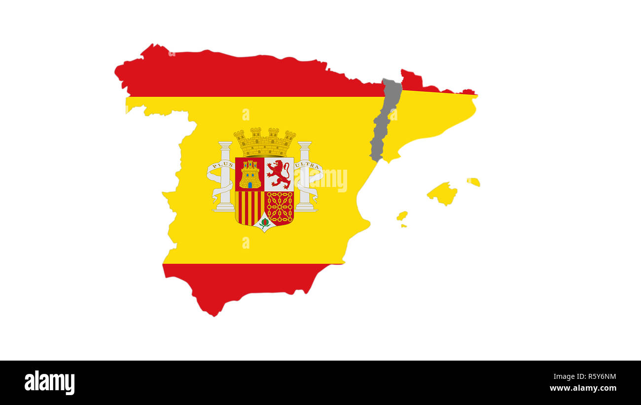 Spain Map Flag.Spain Map Flag On Abstract Stock Photos Spain Map Flag On Abstract