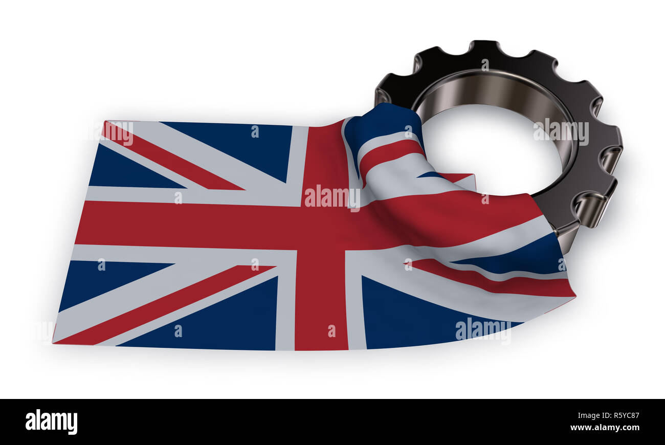 british industry - Stock Image