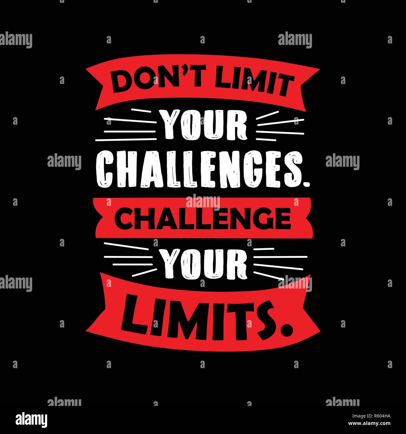 Don't limit your challenges. Motivational Quote for better life ...
