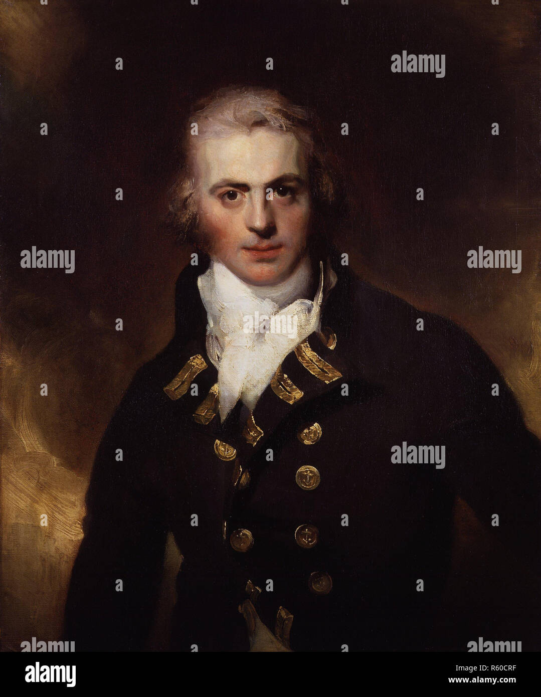 Sir Graham Moore by Sir Thomas Lawrence.jpg - R60CRF  - Stock Image