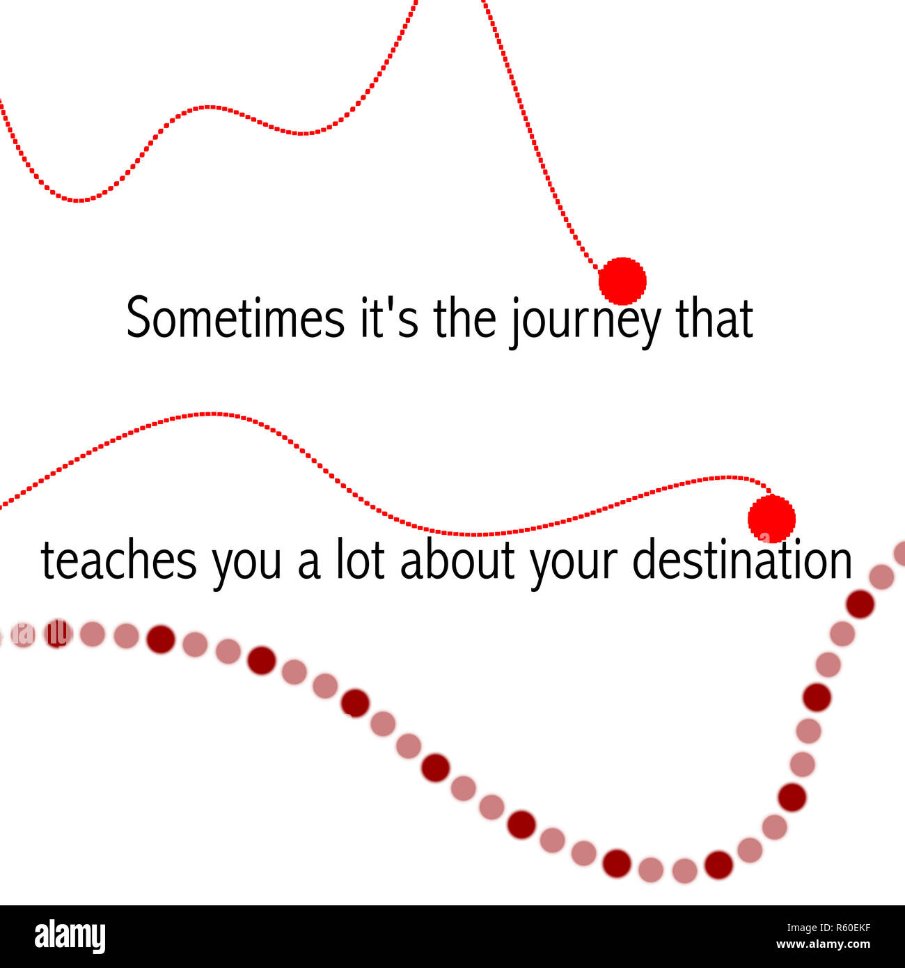 Motivational Quotes Sometimes Its The Journey That Teaches You A