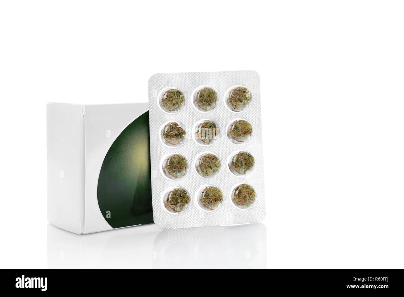Medical Marijuana concept - Stock Image