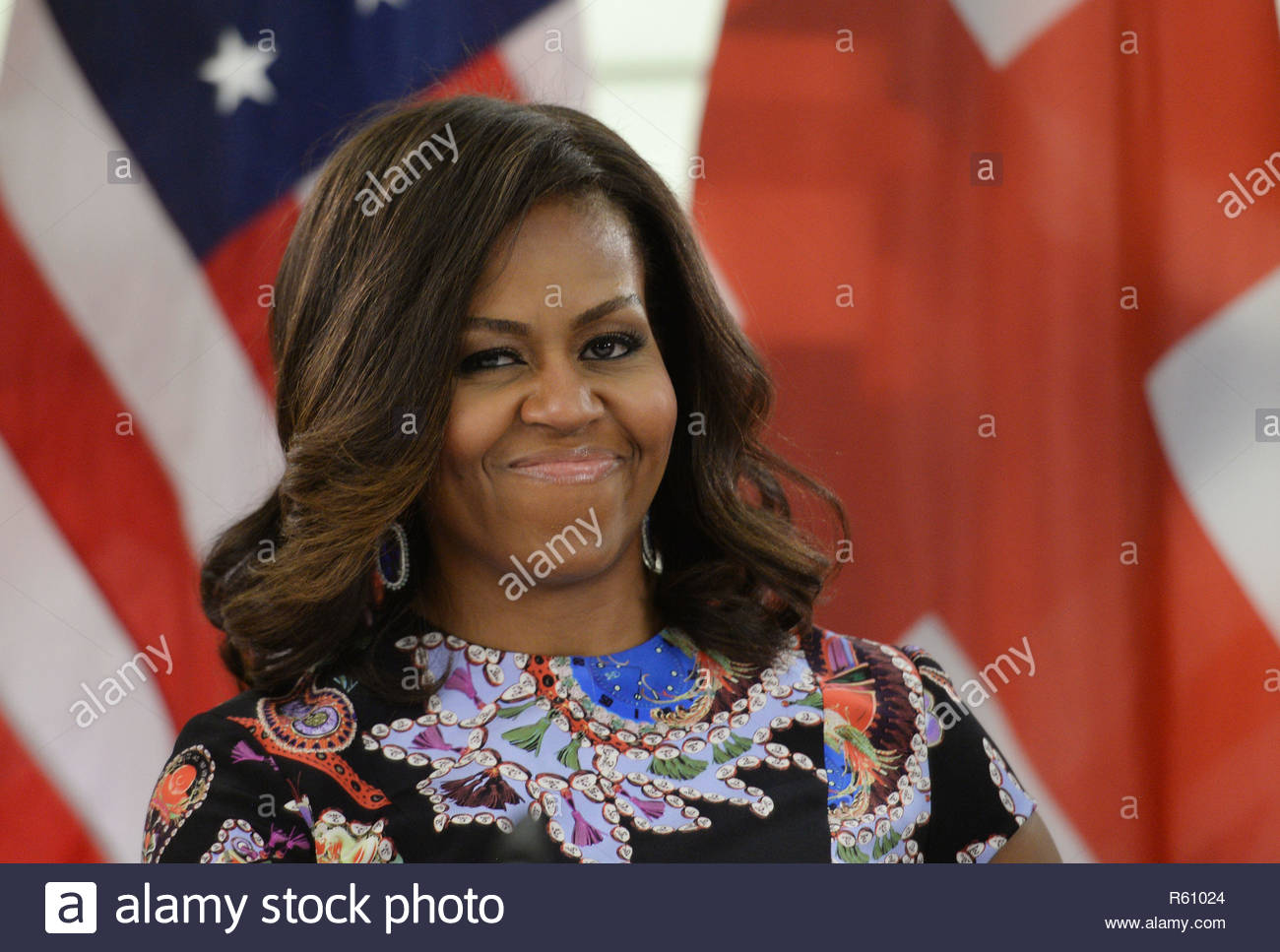 File photo dated 16/06/15 of former US first lady Michelle Obama, who is set to address a live audience about her personal journey to becoming First Lady and her time in the White House. The lawyer and wife of former president Barack Obama will speak to a London audience about her memoir Becoming. Stock Photo