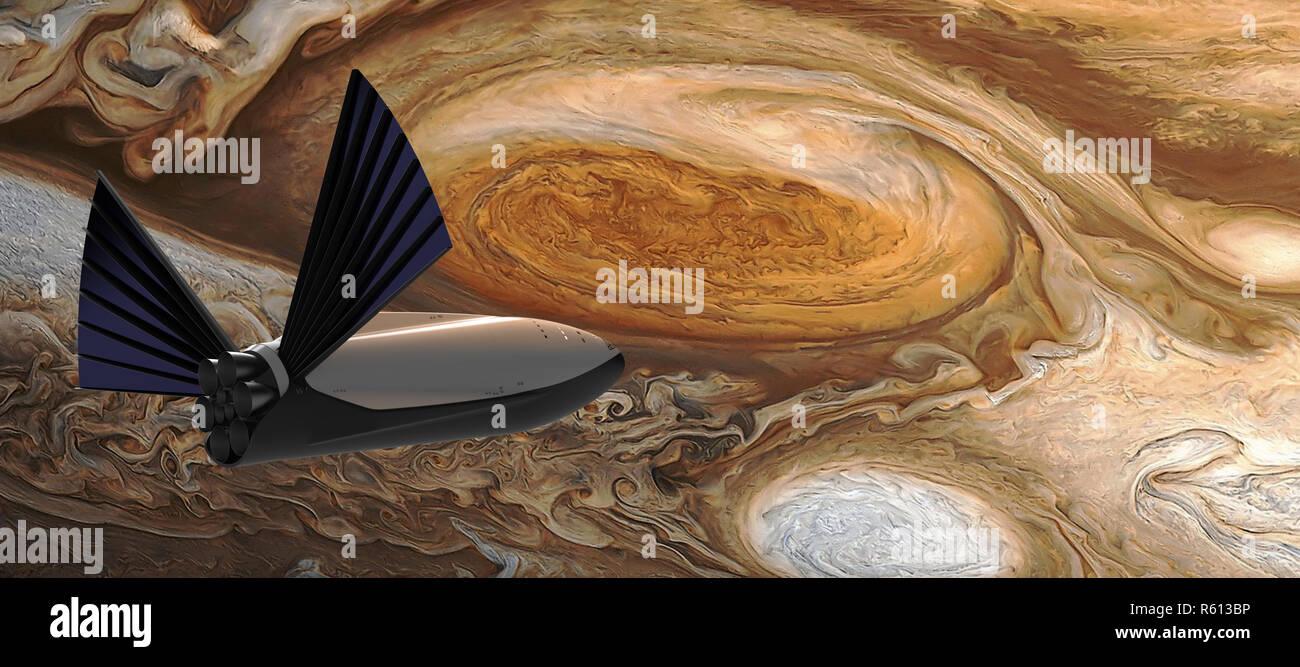 SpaceX, Interplanetary Transport System 4.jpg - R613BP - Stock Image