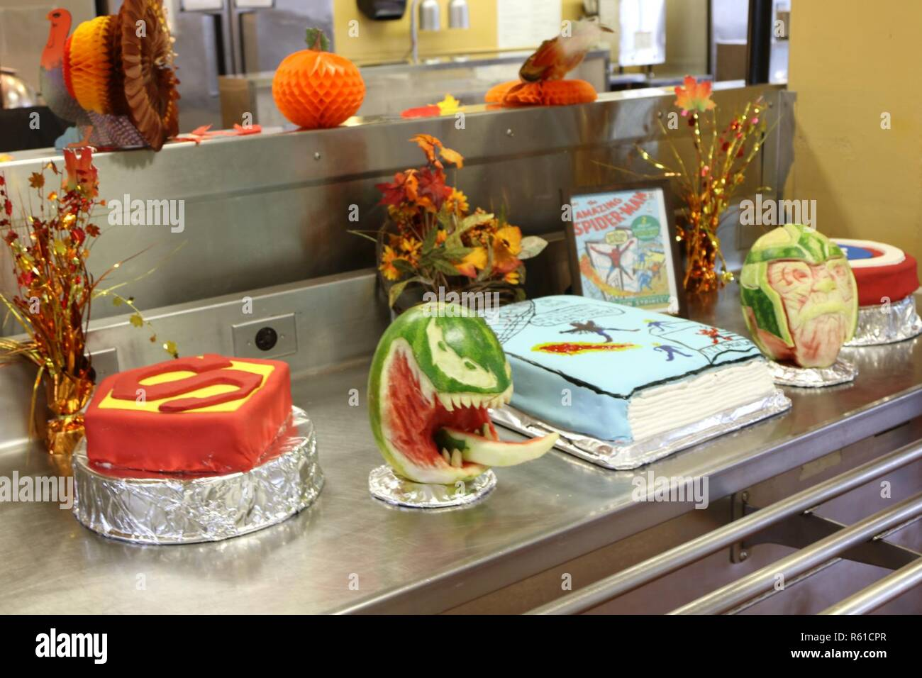 Among The Many Decorations Prepared By The Army Cooks Assigned To