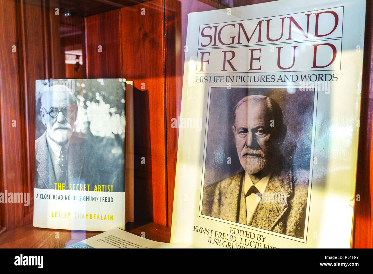Sigmund Freud Museum in his Native House, Pribor, Northern Moravia, Czech Republic - Stock Image