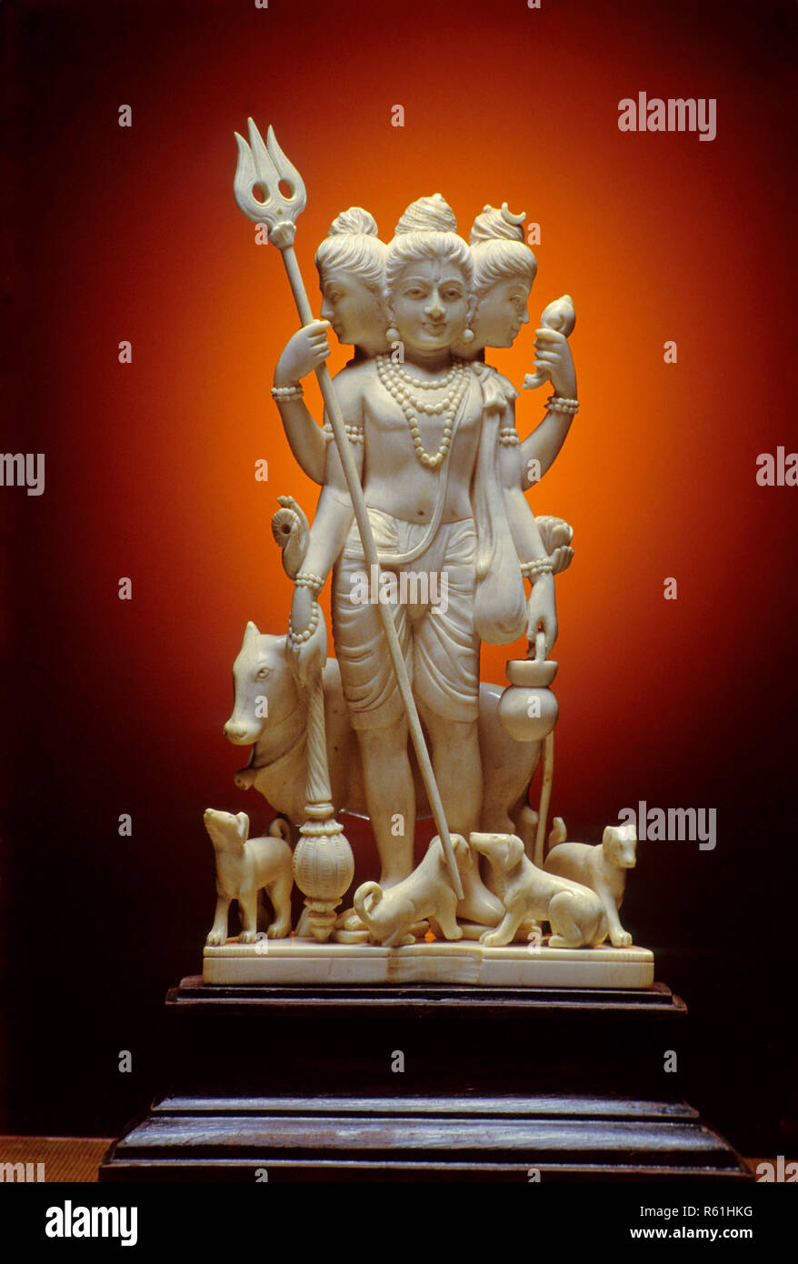 god datta prabhu, festival book page 85 - Stock Image