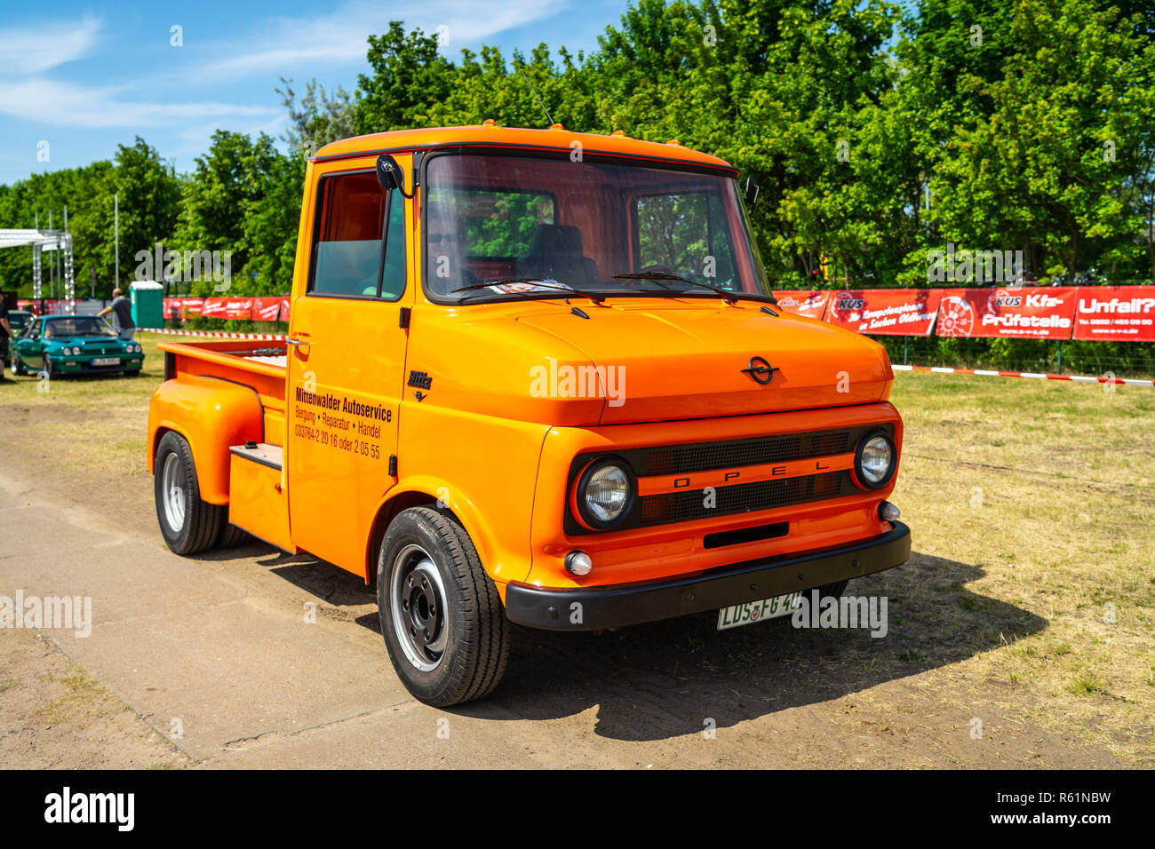 Old Opel Truck High Resolution Stock Photography And Images Alamy