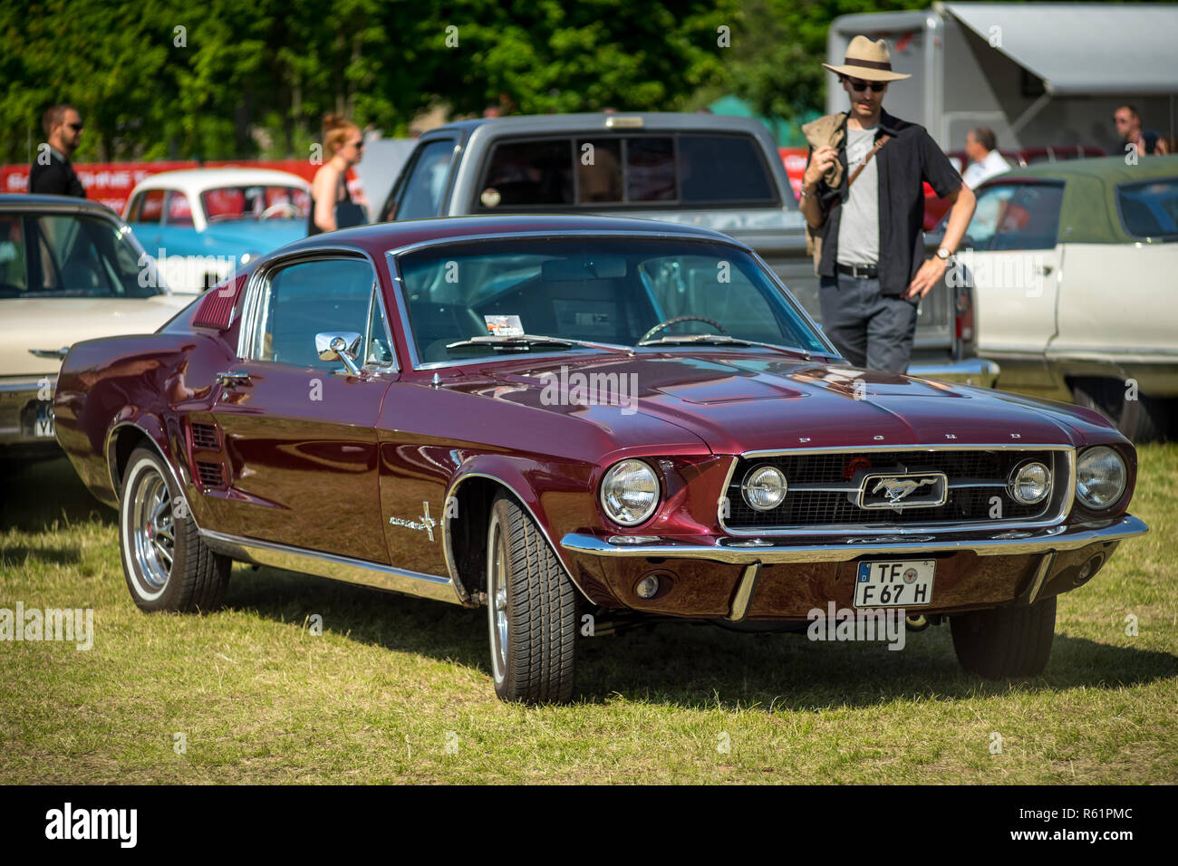 Paaren im glien germany may 19 2018 pony car ford mustang