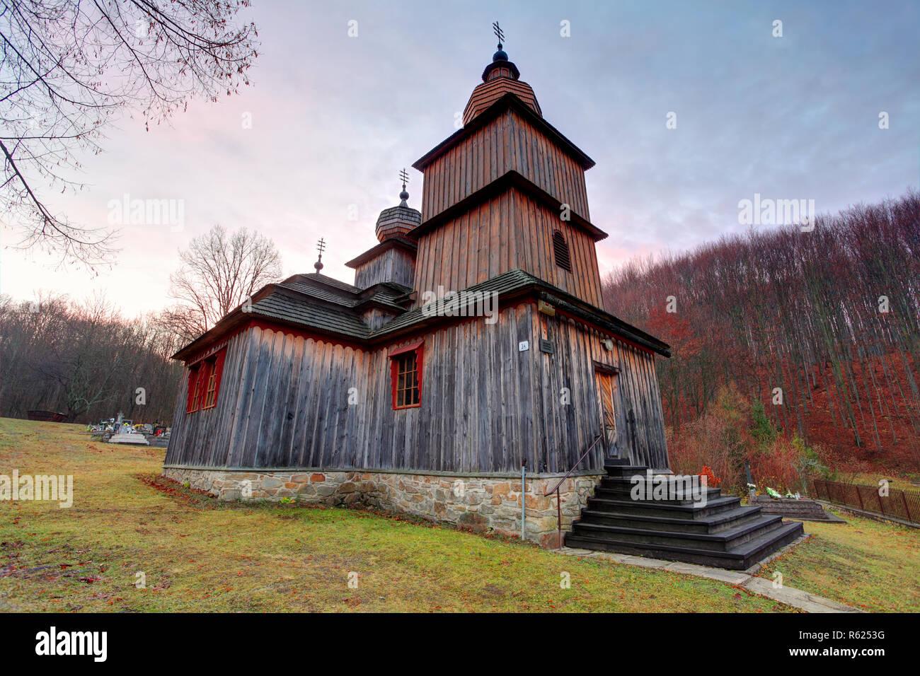Wooden Church Slovakia Architecture Stock Photos Wooden Church