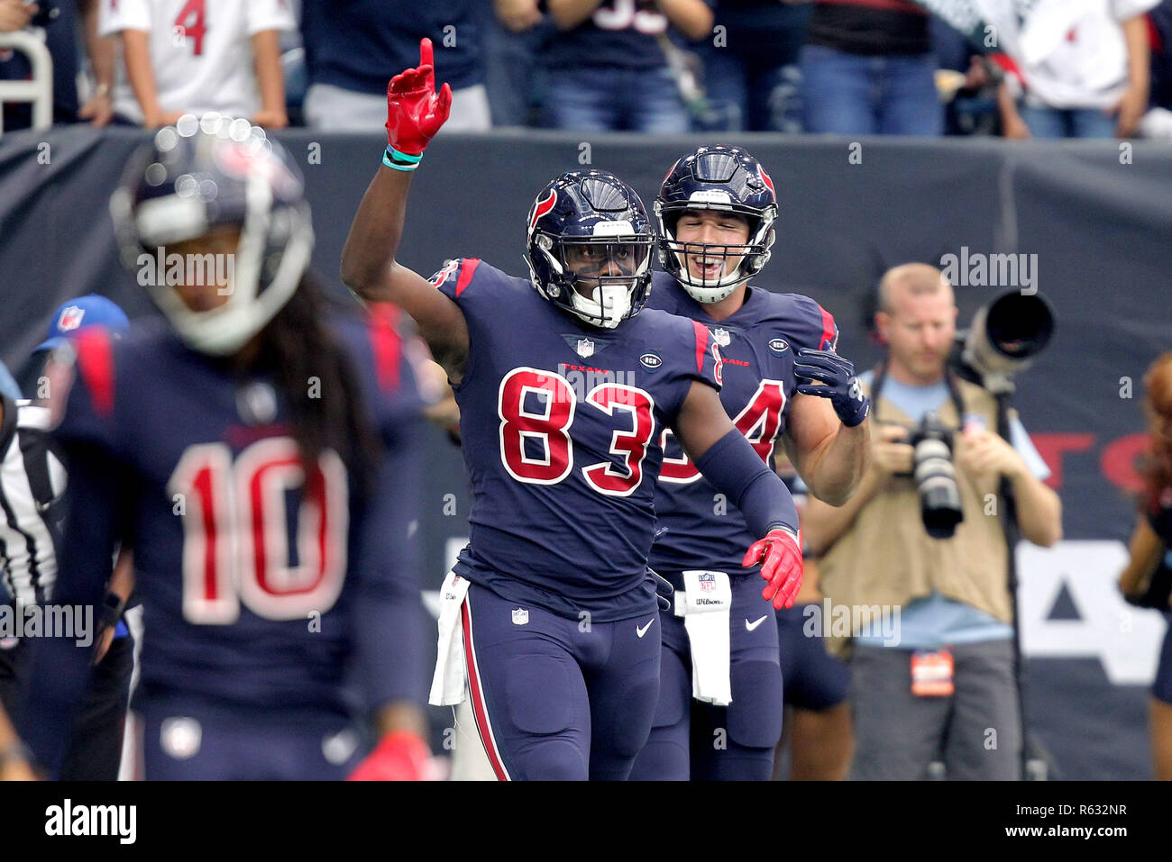 Wholesale Houston, Texas, USA. 2nd Dec, 2018. Houston Texans tight end Jordan  hot sale