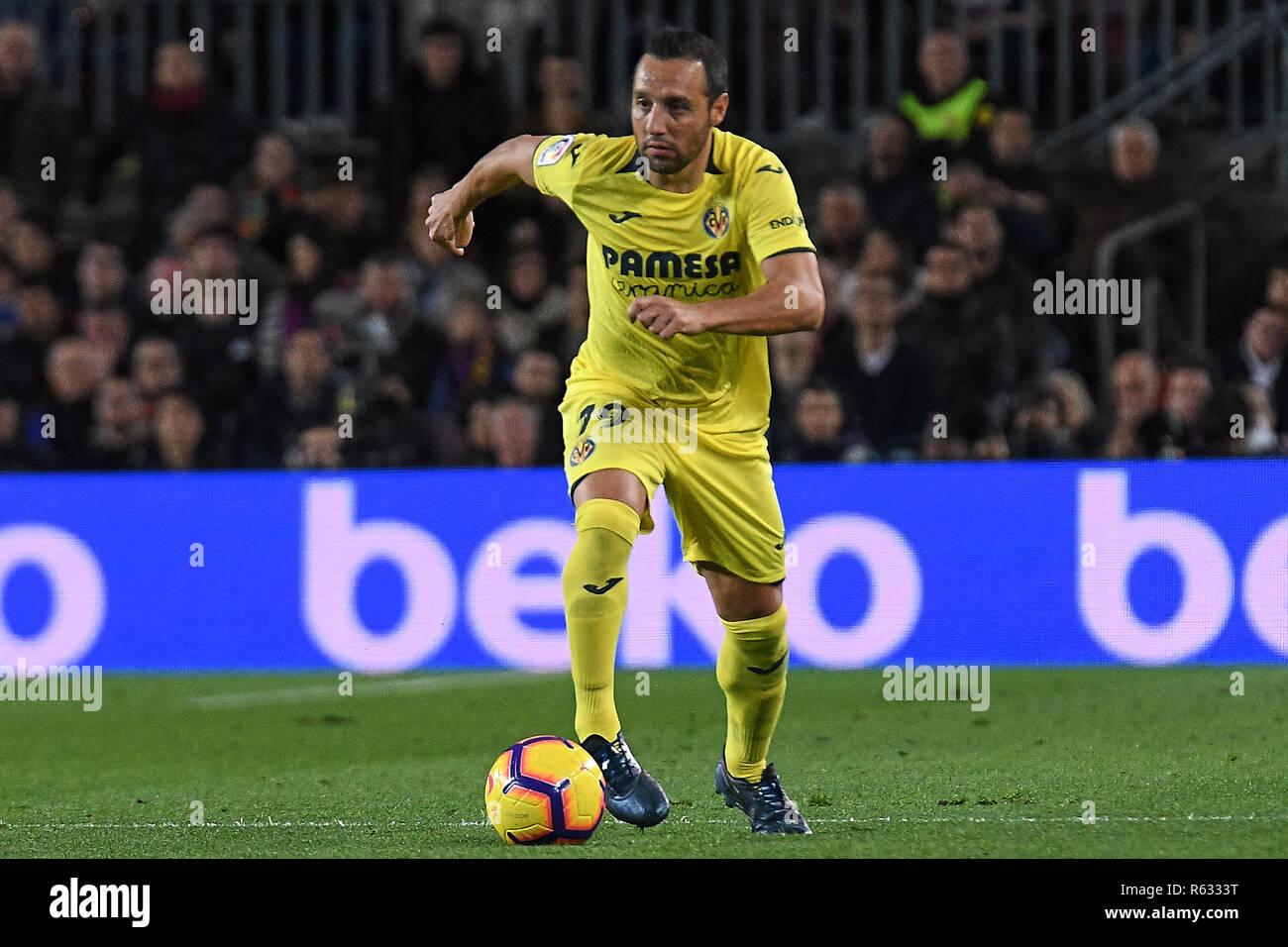Image result for Santi Cazorla against barcelona