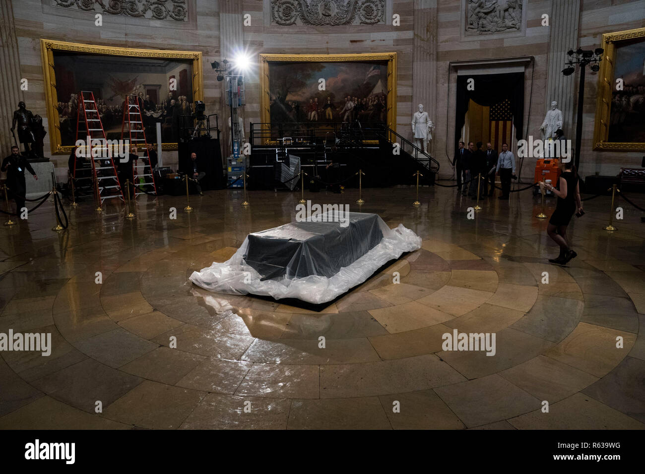 Washington, United States Of America. 03rd Dec, 2018. Test Monday, Nov. 3, 2018. (POOL PHOTO by Doug Mills/The New York Times) | usage worldwide Credit: dpa/Alamy Live News - Stock Image