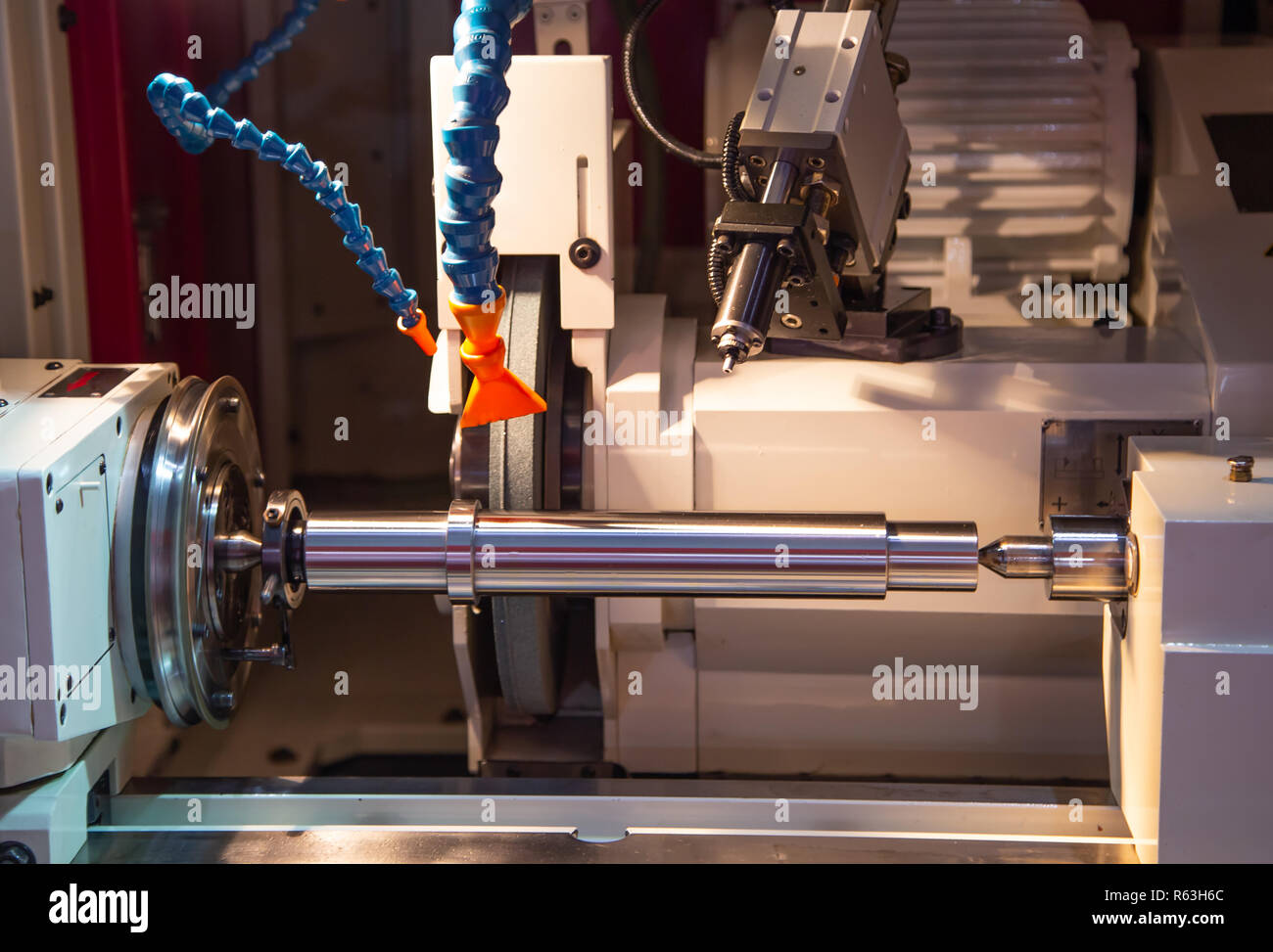 Grinding Machine And Factory Stock Photos & Grinding Machine