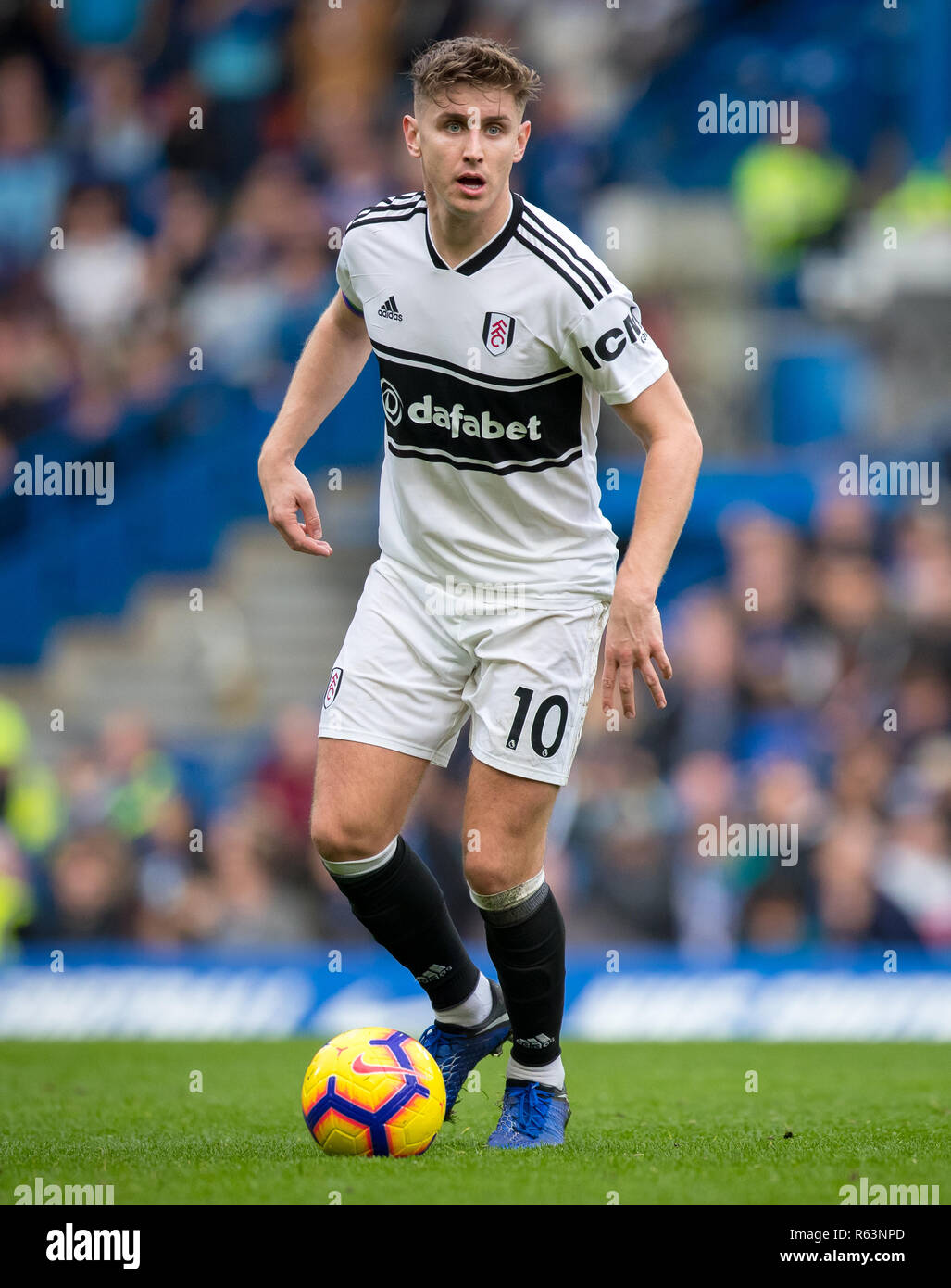 Tom Cairney Of Fulham During The Premier League Match Between Chelsea And Fulham At Stamford Bridge London England On 2 December 2018 Photo By Andy Stock Photo Alamy