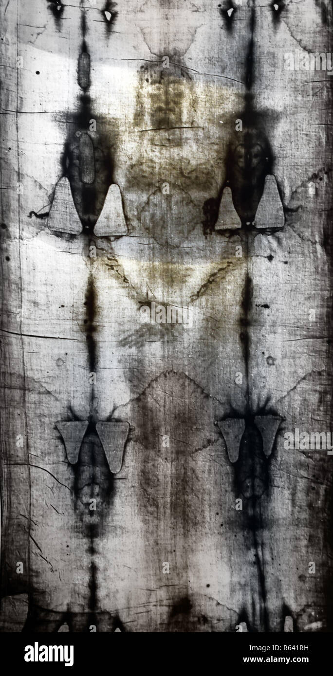 Shroud Of Turin Stock Photos & Shroud Of Turin Stock Images - Alamy