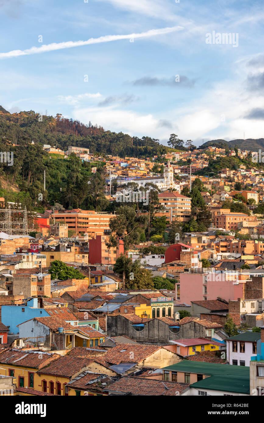 Historic Center of Bogota, Colombia - Stock Image