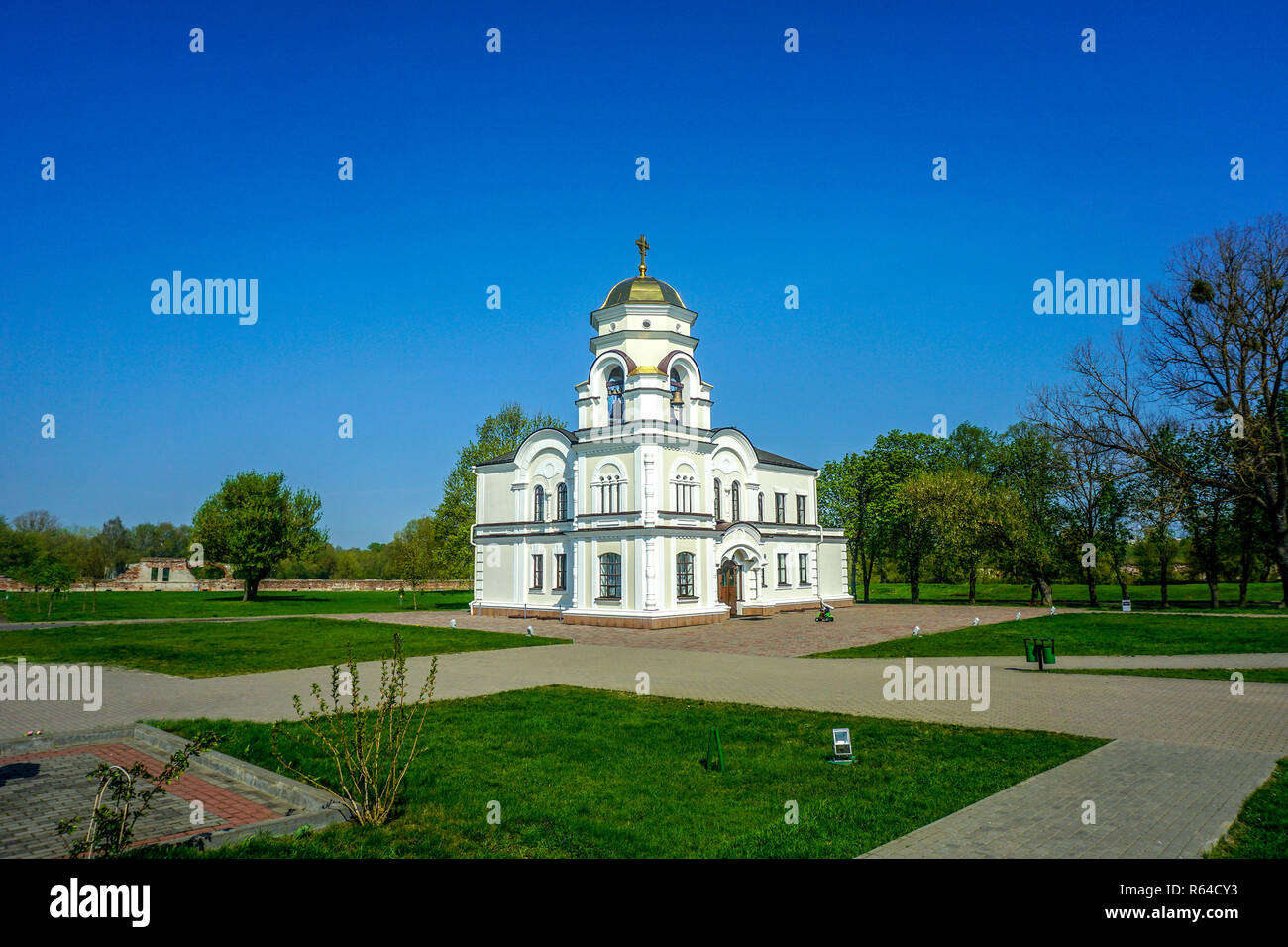 Brest Fortress Hero Complex Orthodox Christian Church - Stock Image