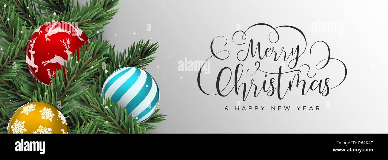 9+ Merry Christmas And Happy New Year Banner