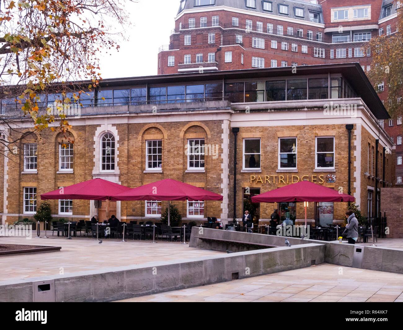 Partridges, Duke of York Square, Chelsea - Stock Image