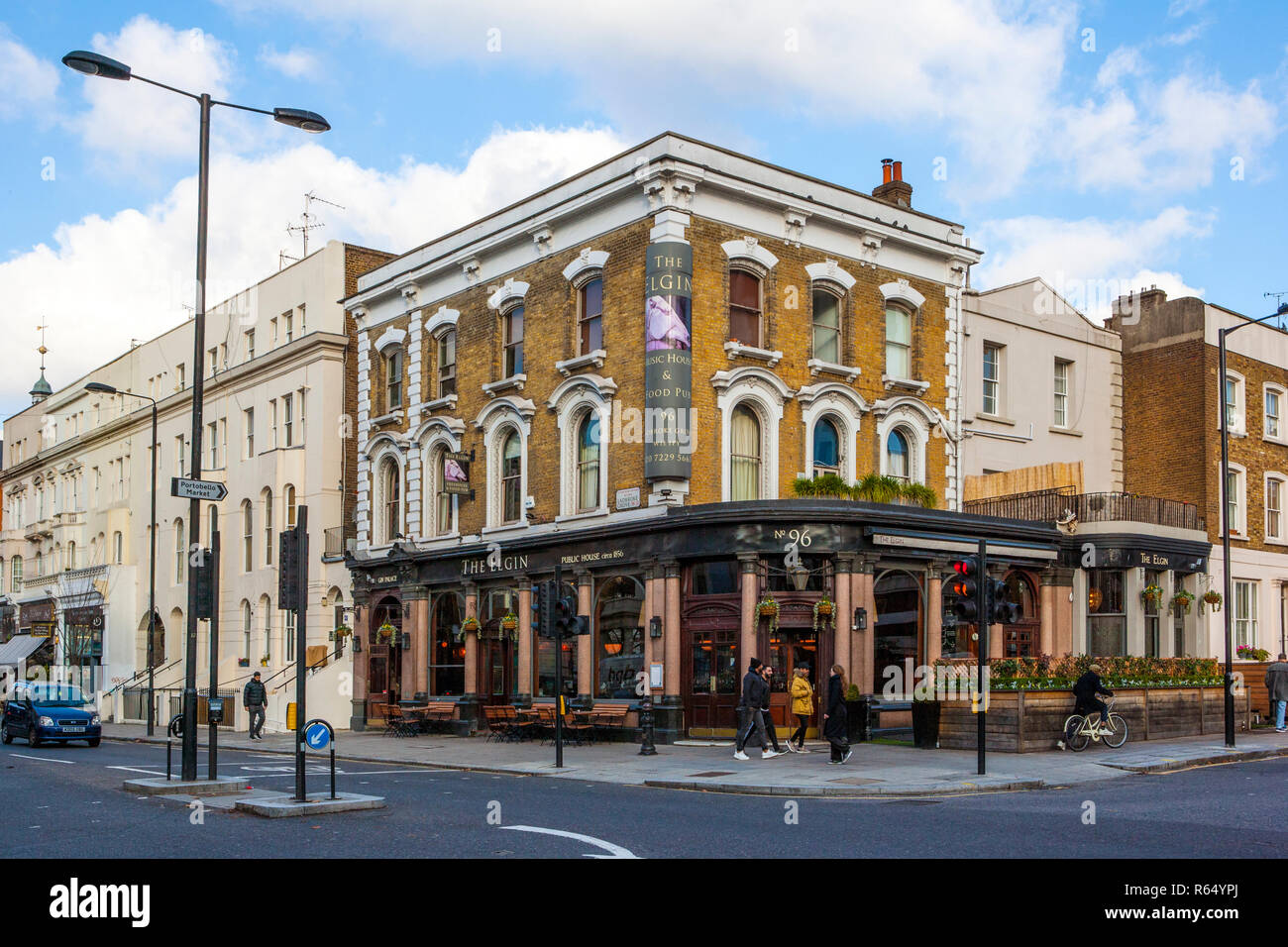 Notting Hill Ladbroke Grove ladbroke grove high resolution stock photography and images
