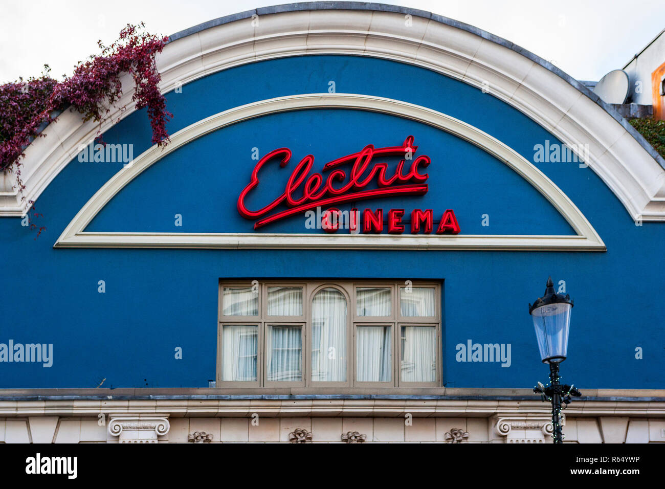The Electric Cinema, one of the oldest working cinemas in Britain opened in 1910, Portobello Road, Notting Hill, London - Stock Image