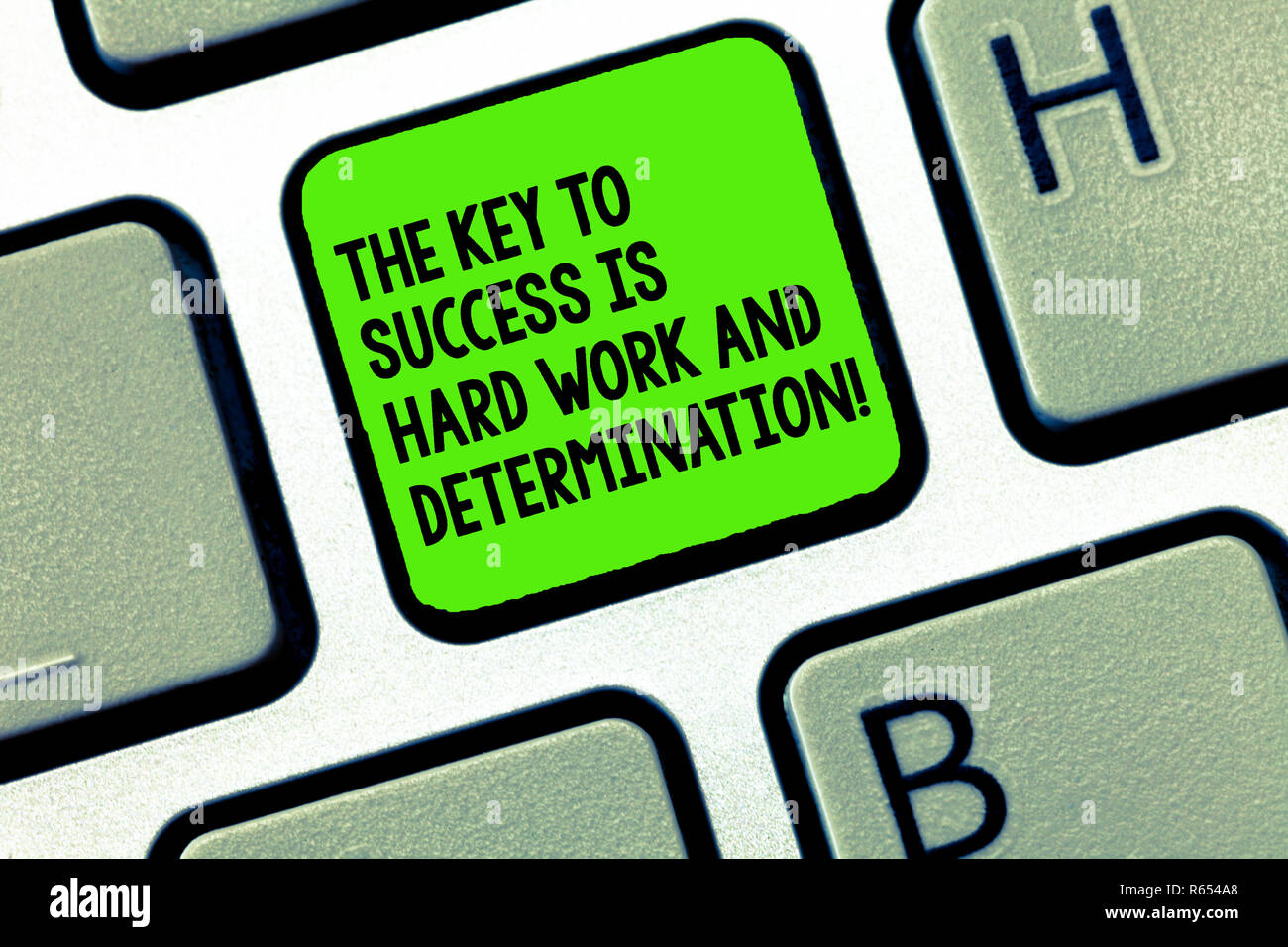hardwork and determination are the key to success