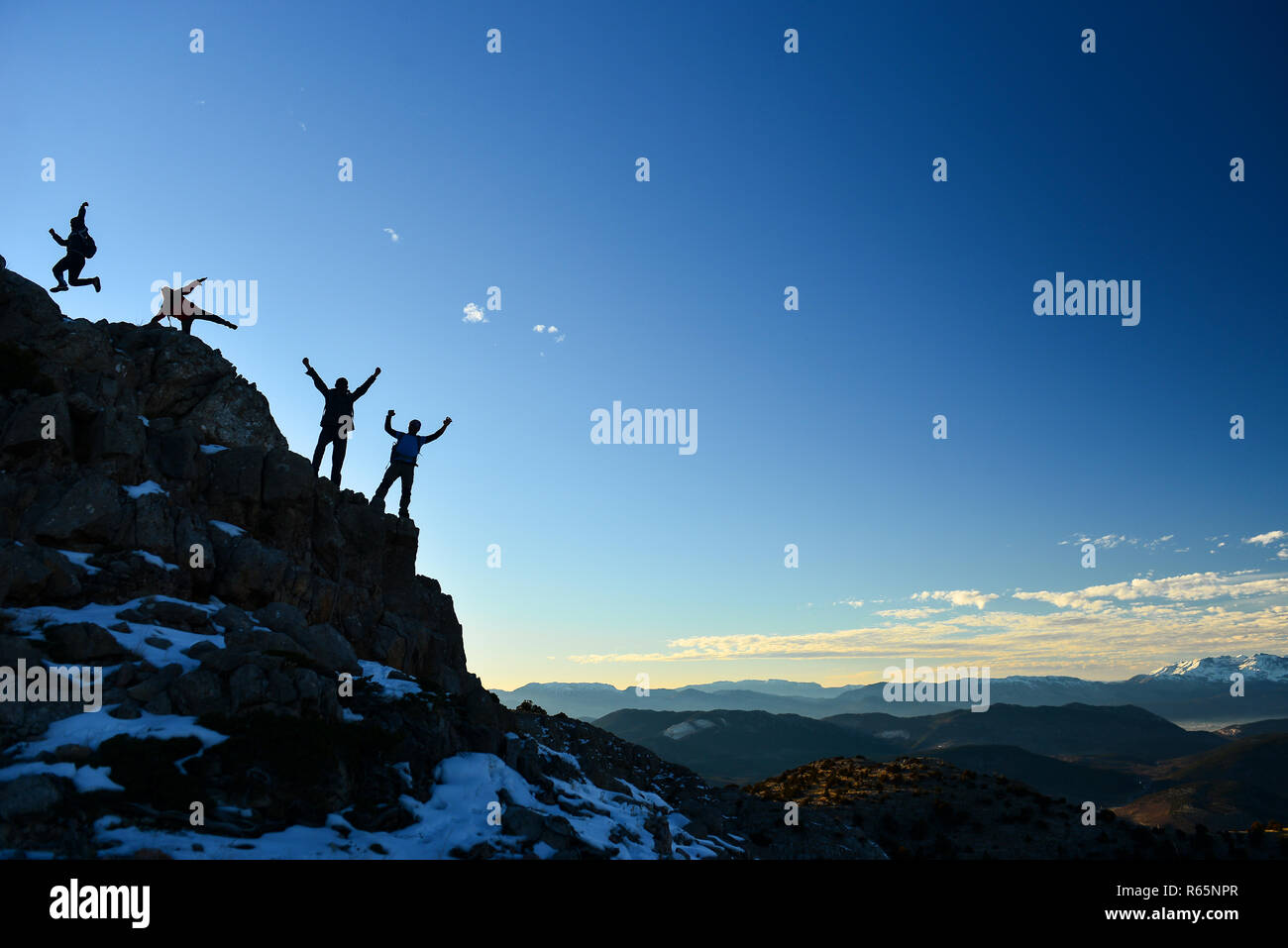 planned,stable,consistent and goal-oriented people - Stock Image