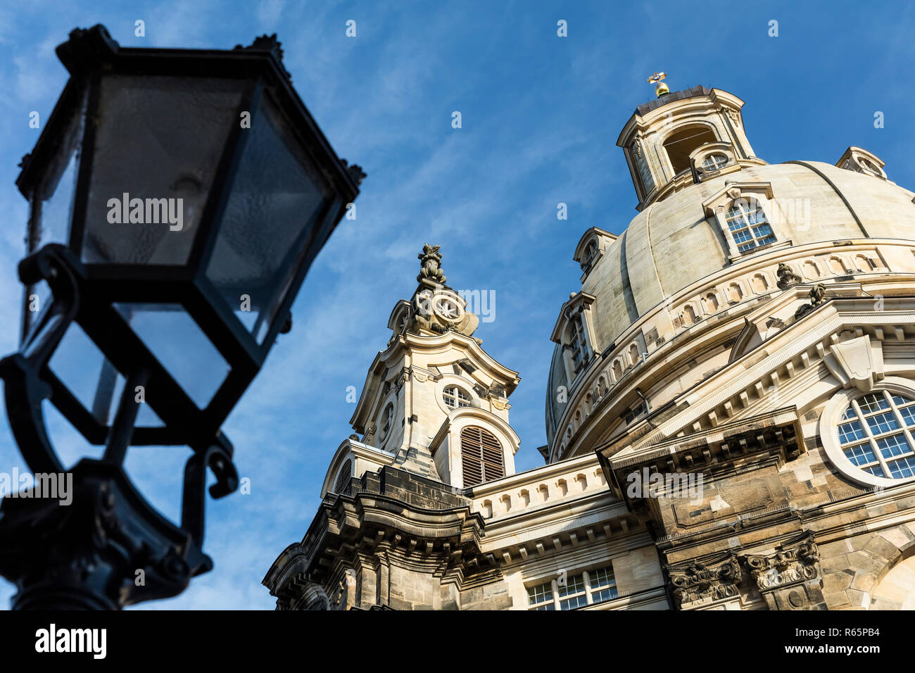 the dome of the frauenkirche - Stock Image