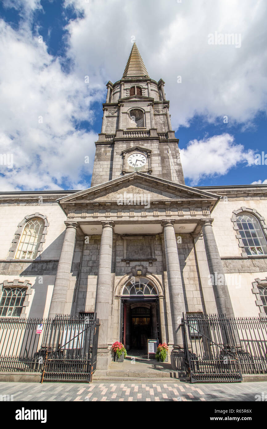 Image of Waterford Town in County Waterford Ireland - Stock Image