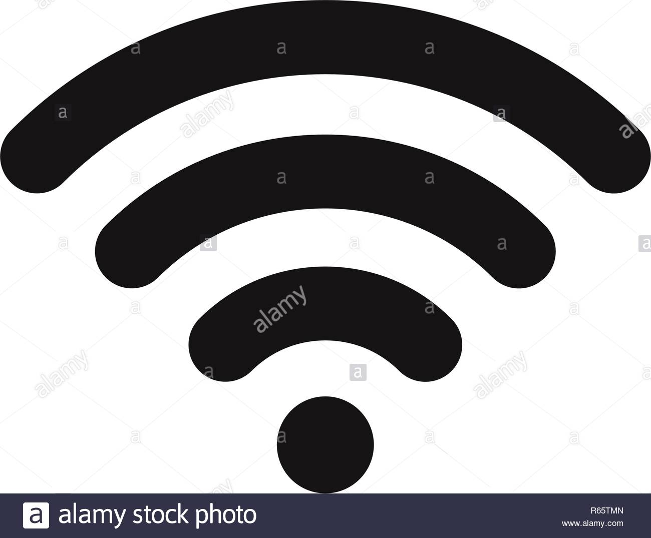 wifi signal icon, wireless symbol connection, internet, network Wireless Network Connection Symbol wifi signal icon, wireless symbol connection, internet, network flat vector sign isolated on white background simple vector illustration for graphic