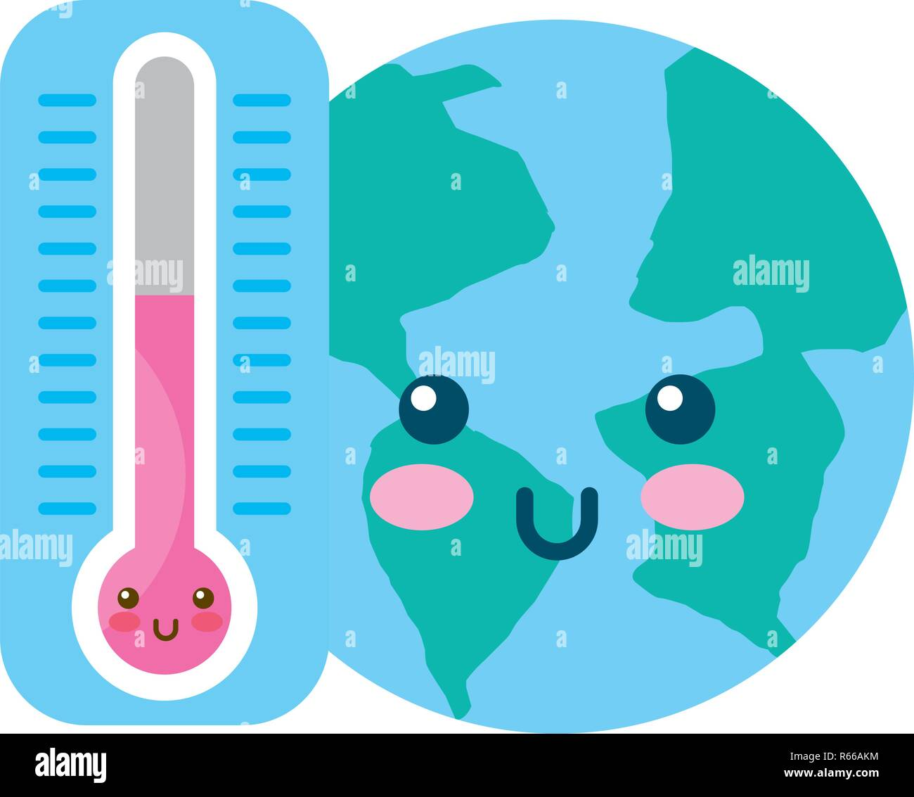 Kawaii World And Thermometer Cartoon Stock Vector Image Art Alamy Descubre la mejor forma de comprar online. https www alamy com kawaii world and thermometer cartoon image227562824 html