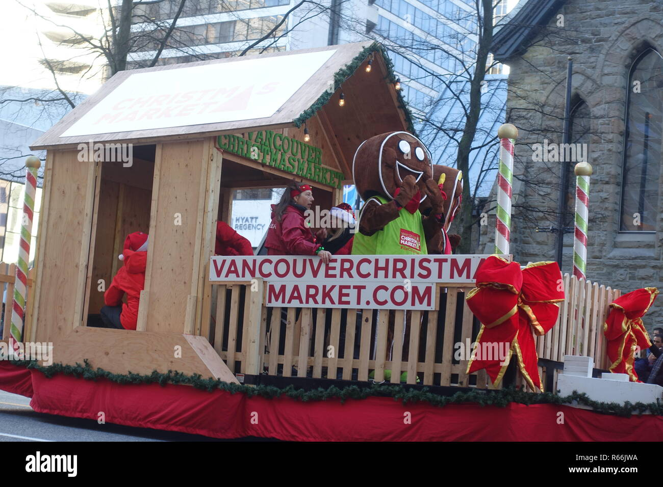 Vancouver Christmas Market 2018.December 2 2018 Vancouver Christmas Market Joined The Santa