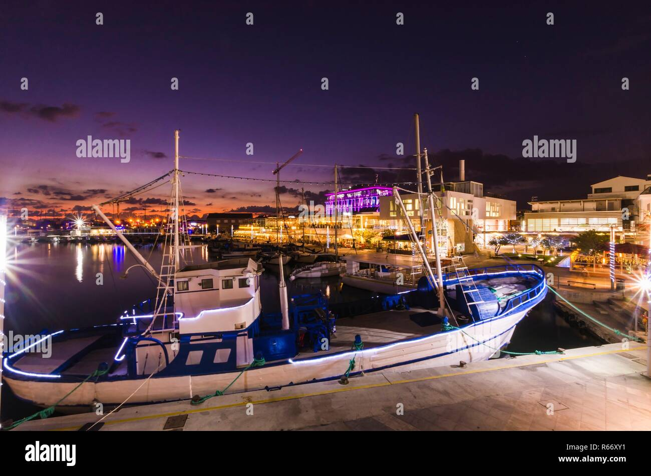 Old Port, Limassol, Cyprus - Stock Image