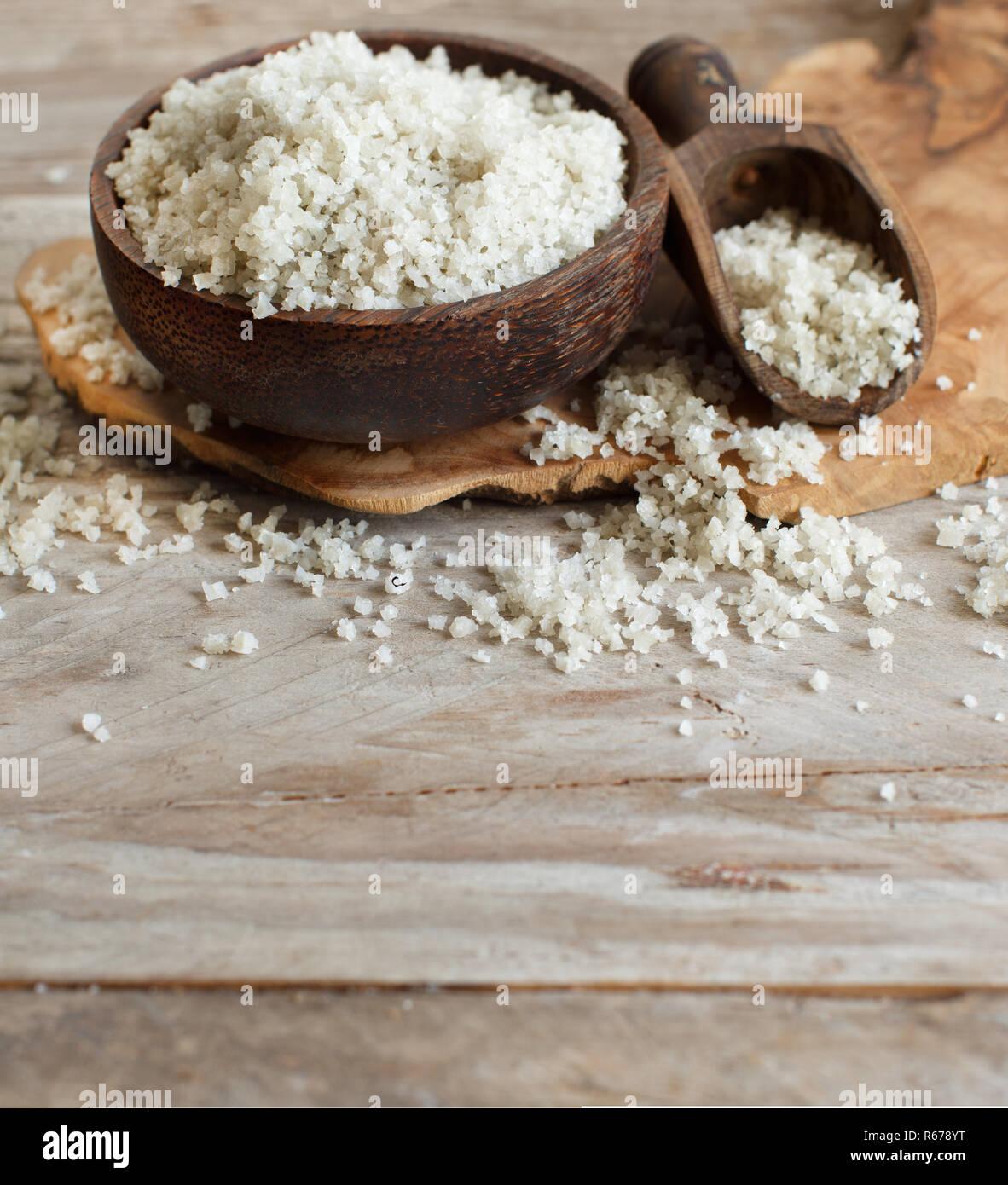 Celtic Grey Sea Salt from France Stock Photo: 227583436 - Alamy