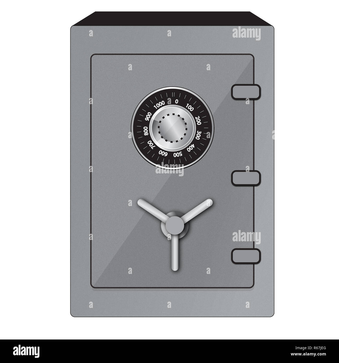 Safe - Stock Image